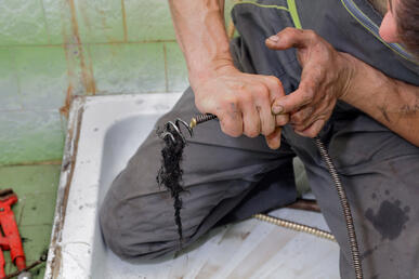 Drain snakes make DIY cleaning simple.