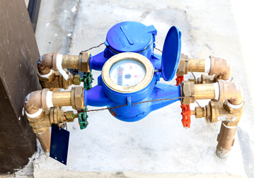 You can use you water meter to diagnose water leaks in and around your home.
