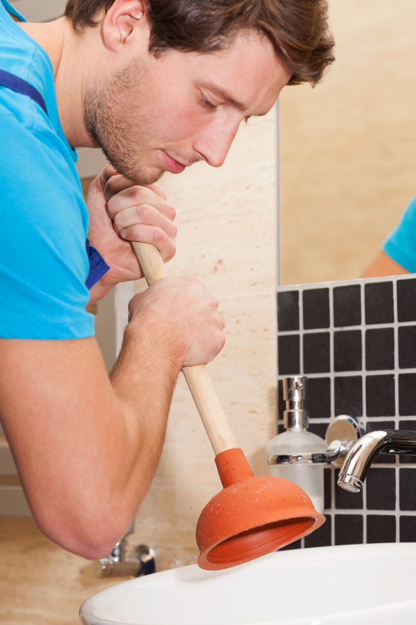 Using a plunger the right way can make all the difference in DIY drain cleaning.