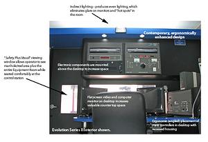 CCTV Sewer Inspection Van Interior