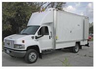 Cues CCTV Sewer Inspection Van
