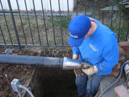 Trenchless Sewer Repair   Pipe Bursting
