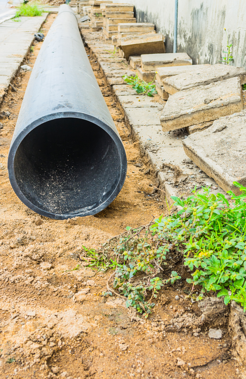 Trenchless, sectional point repair makes dealing with localized pipe damages simple.