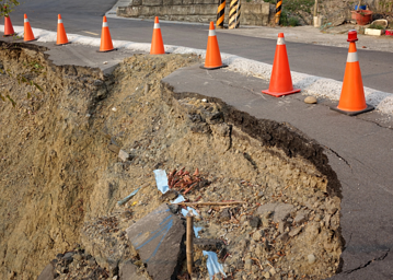 Earthquakes can severely damage any underground utilities, such as your home water pipes.