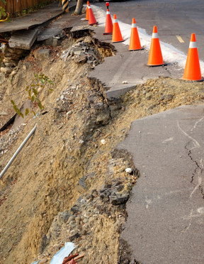 Earthquakes can put your entire home at risk, especially your underground pipe lines.