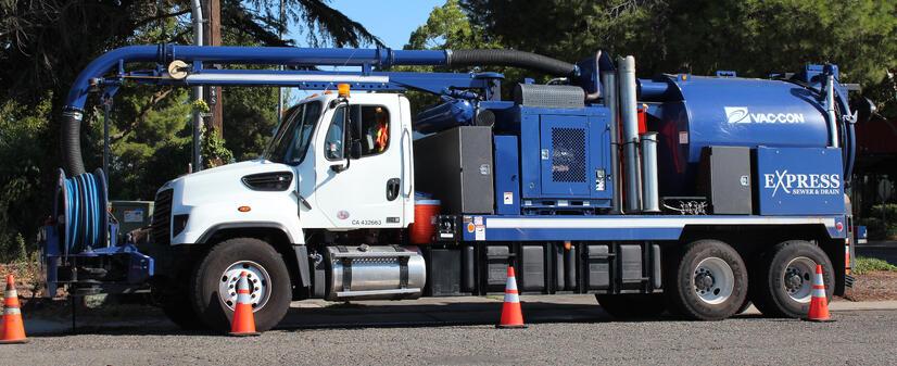 Reliable Plumbing Service in Sacramento Express Truck