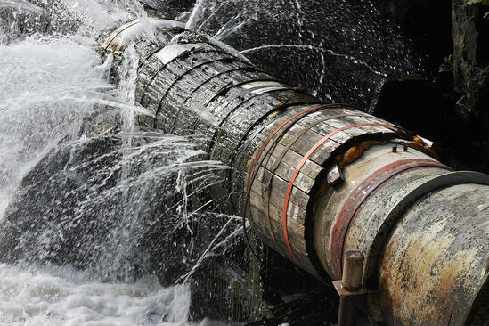 Old, worn-out pipes and sewer connections are more prone to leaking or collapsing.
