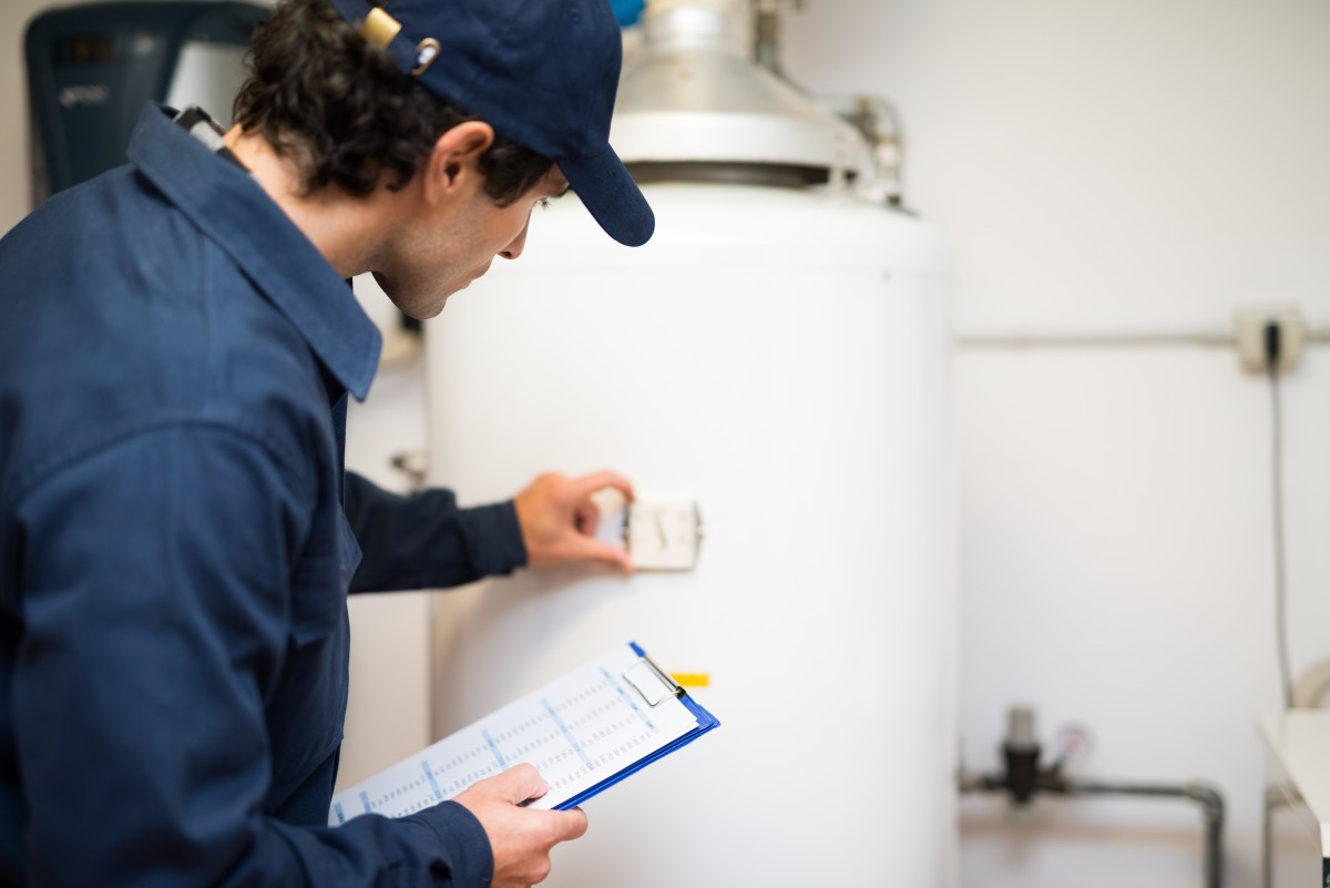 If your hot water heater tank is leaking, you may need to call a professional plumber.