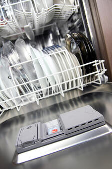 Food products and oils can quickly result in a dishwasher drain clog.