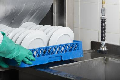 The grease trap is designed to hold a certain amount of waste but requires periodic cleaning.