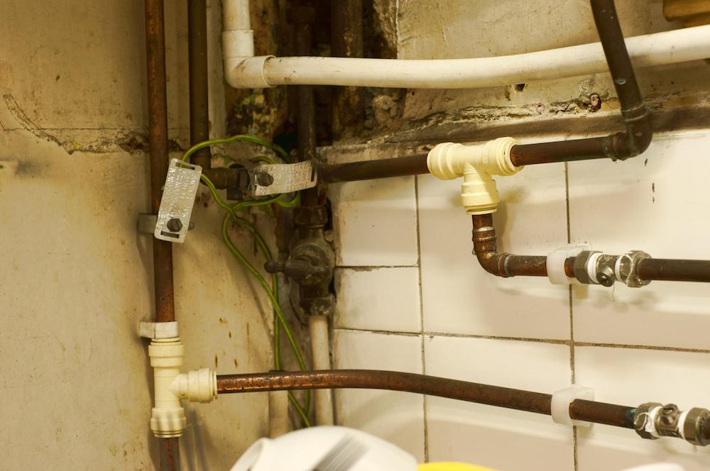 Old plumbing