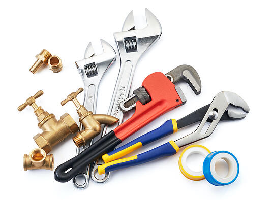 common household plumbing tools