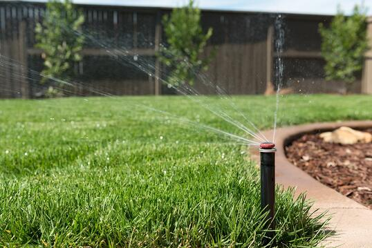 Sprinklers and other components of your irrigation system can be a significant source of water waste--especially if there's a leak in the irrigation line.